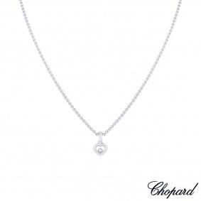 Chopard White Gold Happy Diamonds Necklace 79/4854